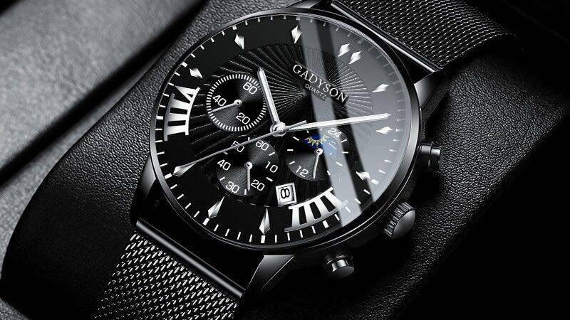 Men Watches Luxury Famous Brand Men Stainless Steel
