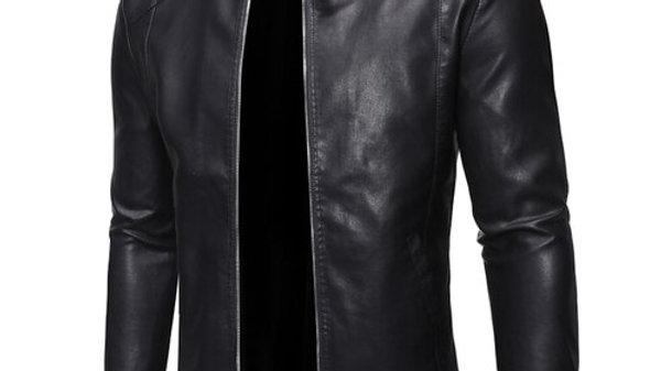 Men's Leather Jacket  Autumn/Winter Leather Coat PU Leather Jacket
