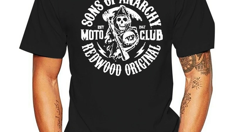T Shirt Sons of Anarchy Soa Redwood Original