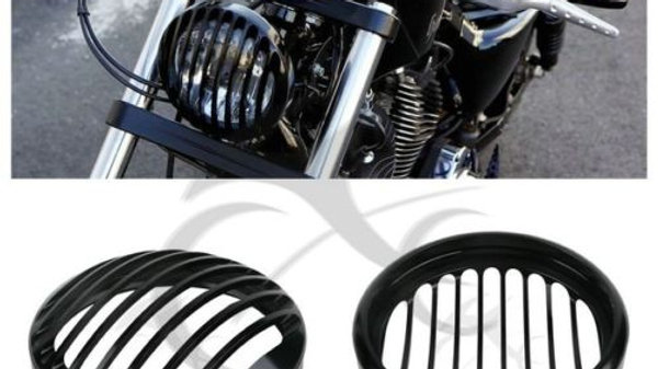 Headlight Grill Cover for Harley Davidson Sportster XL 883 Iron 1200