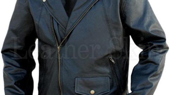 Black Brando Leather Jacket
