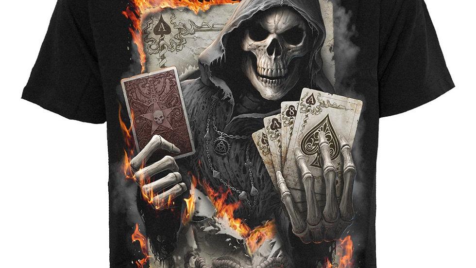 ACE REAPER - T-Shirt Black