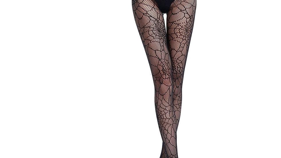 Women Halloween Sexy Fishnet Tights Spider Pantyhose Net Stockings Halloween