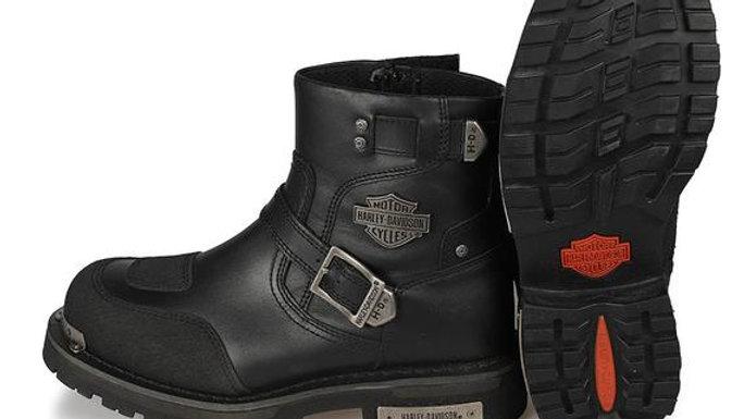 Harley Davidson Original Kingmont Black Men's Boots Genuine Leather