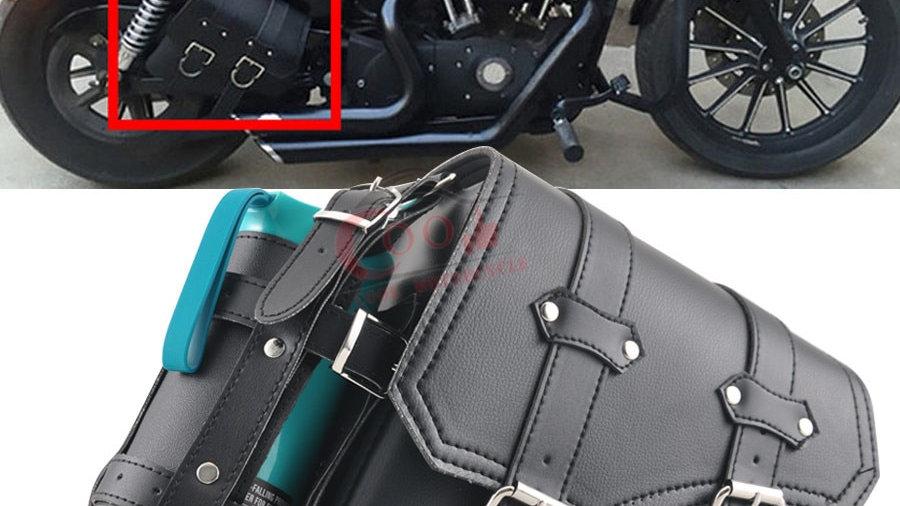 Motorcycle Right Saddle Bag Waterproof Side Bag Bike Side Storage HD
