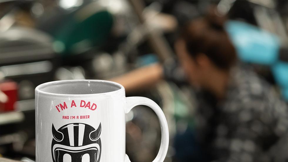 Father and Biker Mug