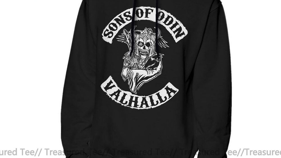 Sons of Anarchy Hoodie Sons of Odin Nice Loose Pullover Oversize Male Hoodies