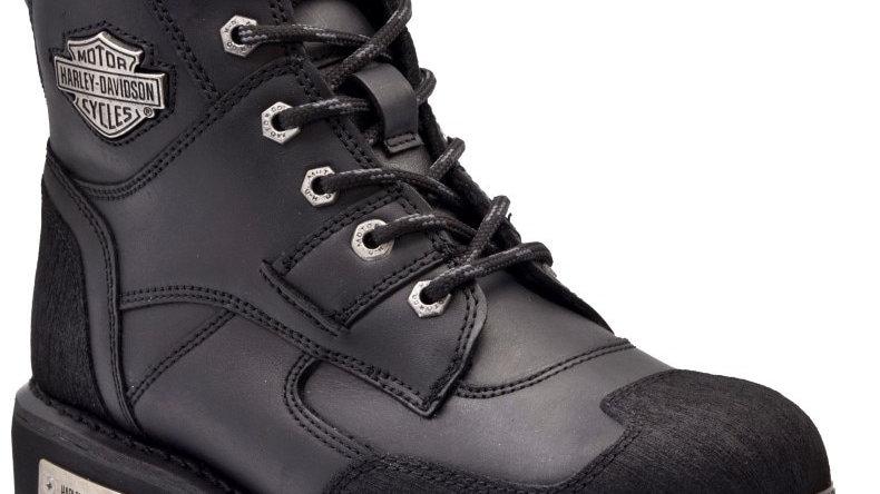 Harley Davidson ZAK BLACK Male Shoes Boots