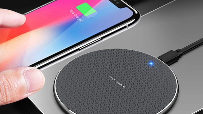 10W Qi Fast Wireless Charger Charging Pad