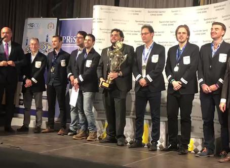 Scacchi, impresa di Obiettivo Risarcimento: padovani campioni d'Europa