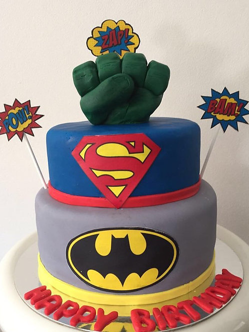 Super Hero Smash
