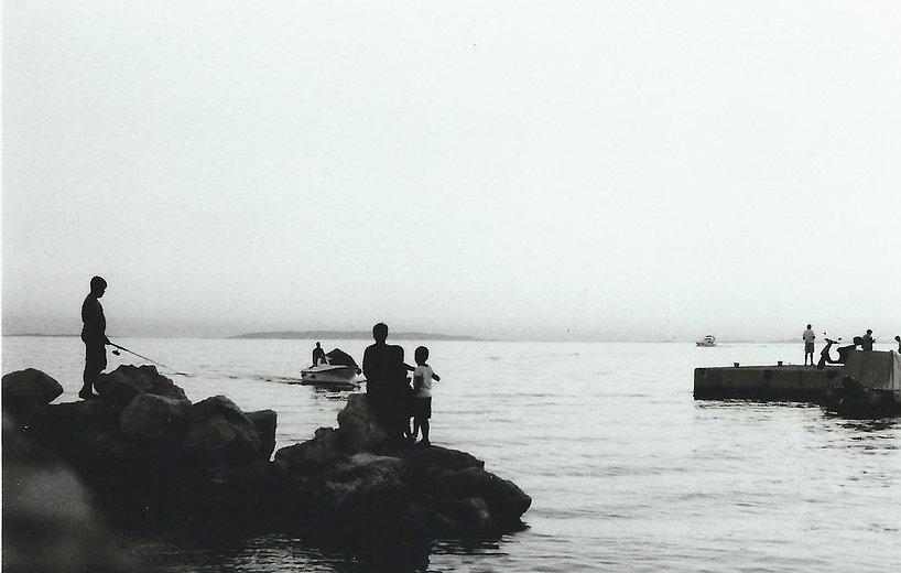 Sea, Fisherman, Landscape