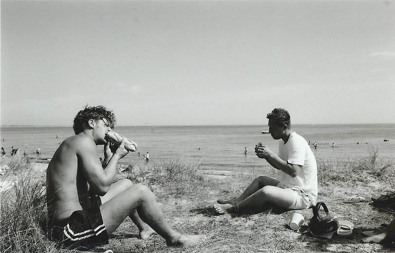 Beach, Sandwich, Surfing