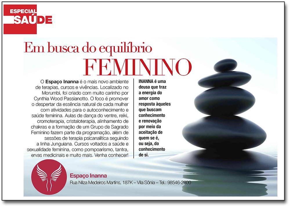 Veja a Edição OnLine https://issuu.com/dolcemorumbi/docs/dvt136_issuu/24