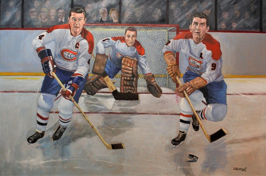 Montreal Canadiens Painting
