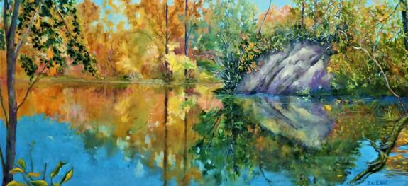 Reflections Dufferin Island series