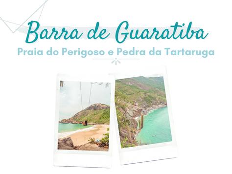 Barra de Guaratiba - RJ: Trilha para a Praia do Perigoso + Pedra da Tartaruga