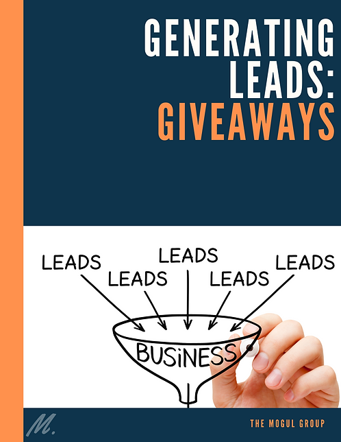 GENERATING LEADS: GIVEAWAYS