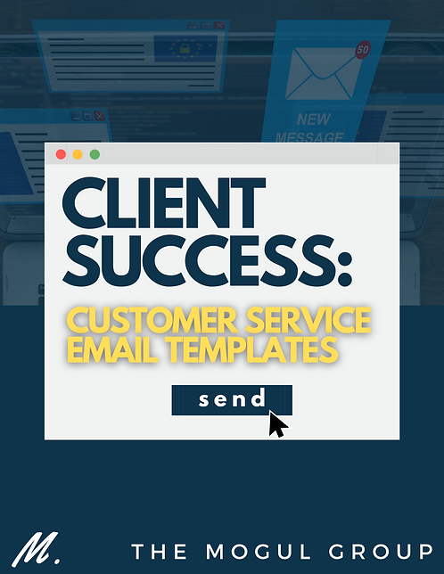 Client Success: Customer Service Email Templates