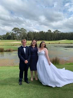 2019 Tayla & Jake Worrigee links golf cl