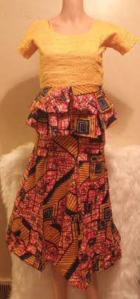 African Attire Skirt-Suit