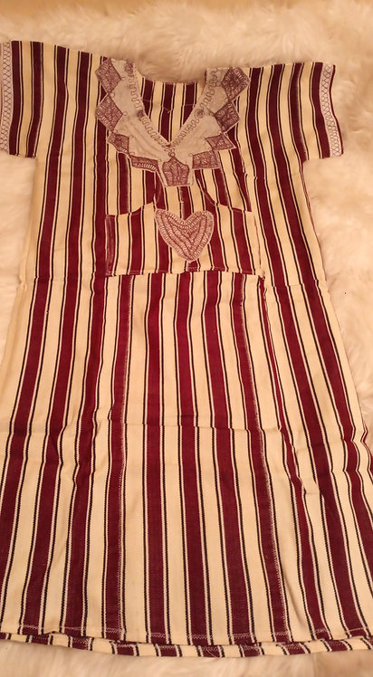 African Country Cloth Dress #4