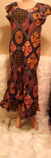 African Traditional Attire Dress #12
