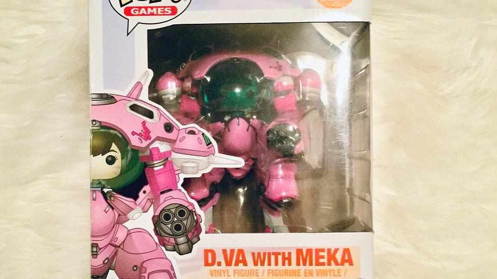 D.VA with MEKA Pop Games Toy Figure
