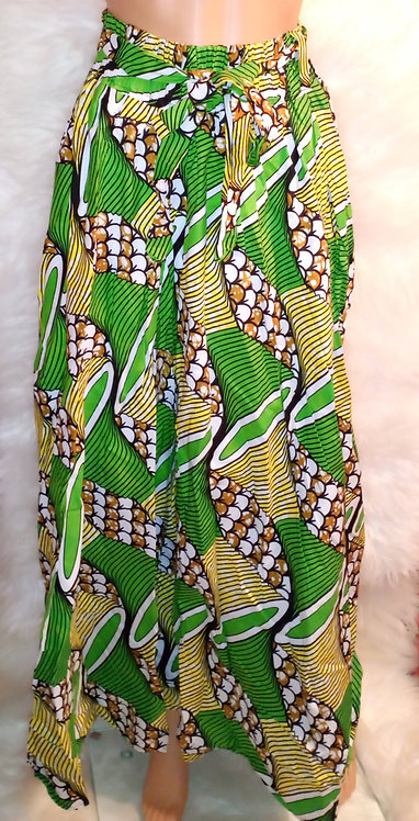 African Attire Skirt Elastic Waist Strap #5