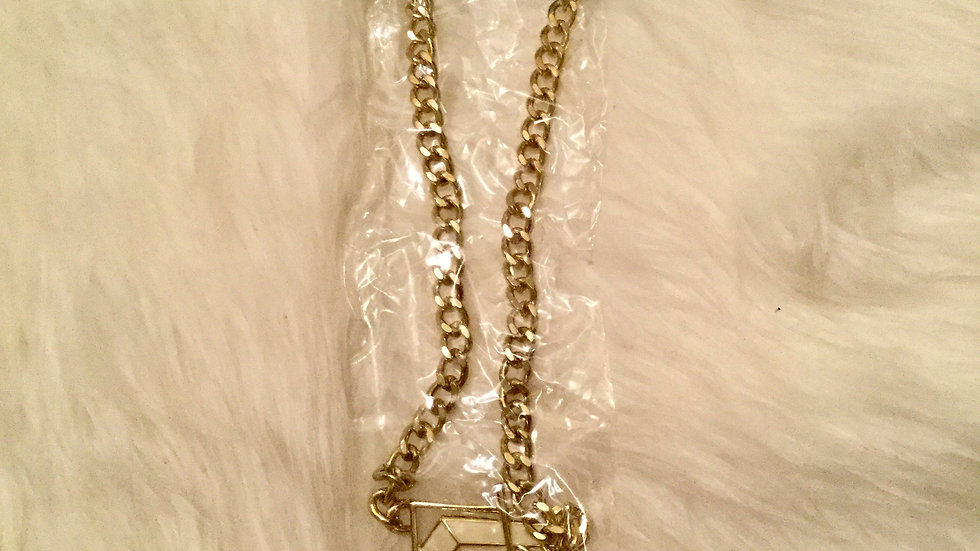 Noodle Necklace Pendant