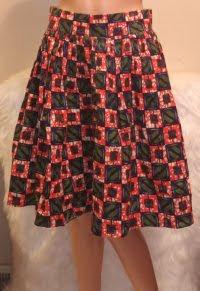 African Skirt Pattern Design