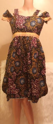 African Traditional Attire Dress #6