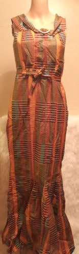 African Traditional Torso Knot Attire Dress