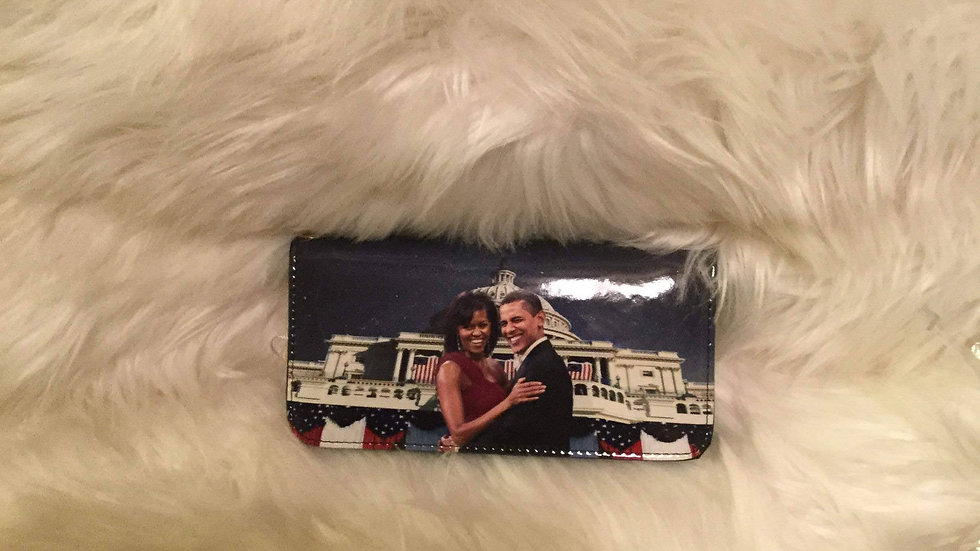Obama & Michelle Pocket Bag