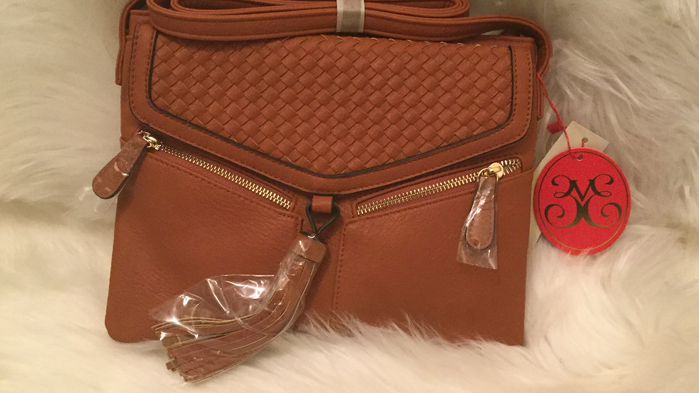 Woven Weaved Crossbody Bag