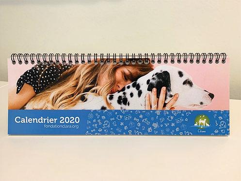 Calendrier 2020 Clara
