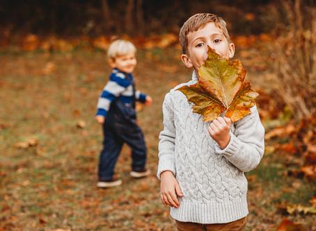 Thuis Studios   Fun Fall Family Session   Annapolis, Maryland Family Photographer