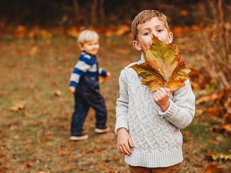 Thuis Studios | Fun Fall Family Session | Annapolis, Maryland Family Photographer