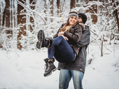 Thuis Studios | Just Because~A Snowy Couple's Session | Annapolis, Maryland Photographer