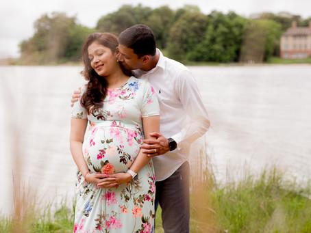 Thuis Studios | Hello Baby!~Vishruti+Parthiv's Maternity Sesh | Annapolis, Maryland Photographer