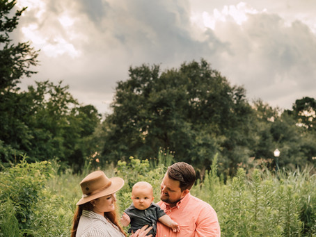 Armstrong family   Hermann Park   Family session
