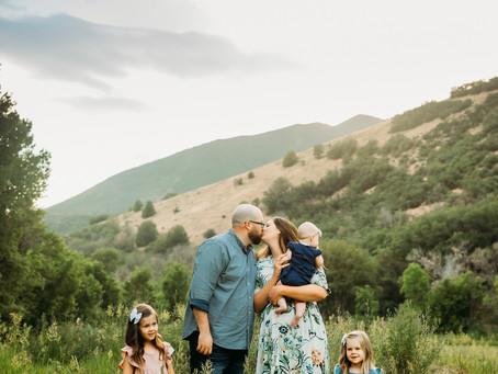Busk Family | Hobble Creek Canyon | Family session