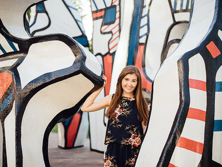 Mallory | Senior session | Discovery Green
