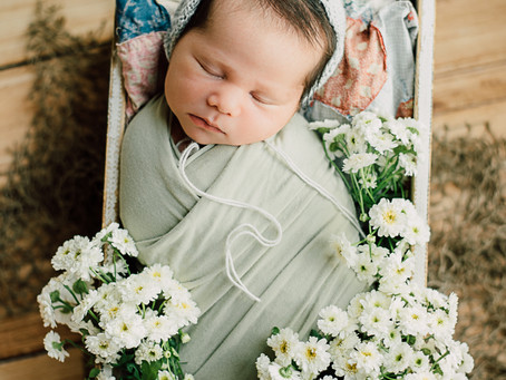 Keira Newborn | Fulshear, Texas | In-home newborn photography