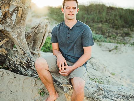 Corbin | Senior pictures | South Padre Island