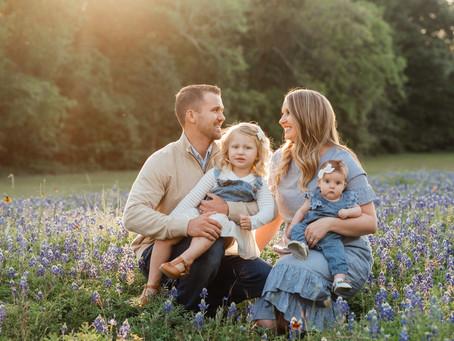 2020 Bluebonnet plans | Bluebonnet mini sessions | Katy, Texas
