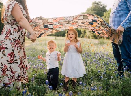 Bowen family | Bluebonnet mini | Katy, Texas