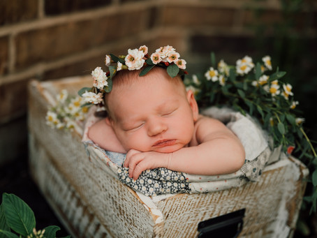 Kynlee | Newborn session | Cypress, Texas