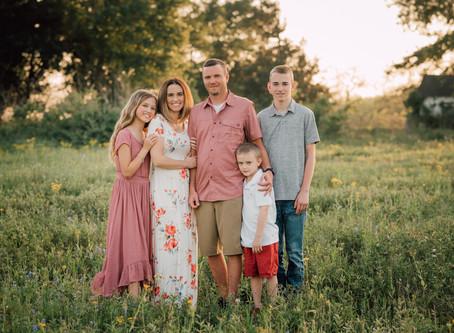 Boyd Family | Bluebonnet mini | Katy, Texas