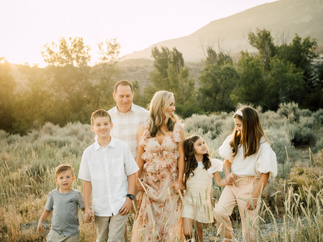 Michele's dreamy family session in the mountains | travel session
